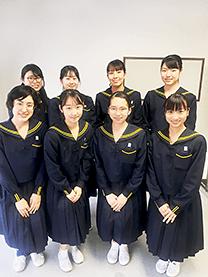 ※静岡県西遠女子学園様にて撮影