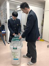 ※実践学園中学・高等学校様にて撮影