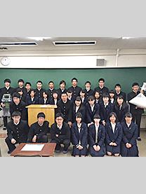 ※千葉県立佐倉高等学校様にて撮影