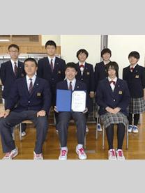 ※秋田県立羽後高等学校様にて撮影