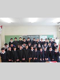 ※江戸川区立小岩第三中学校様にて撮影