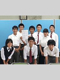※宝塚市立宝梅中学校様にて撮影