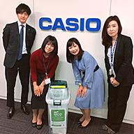 カシオ計算機株式会社 九段オフィス様