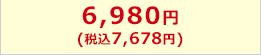 6,980円(税込7,538円)