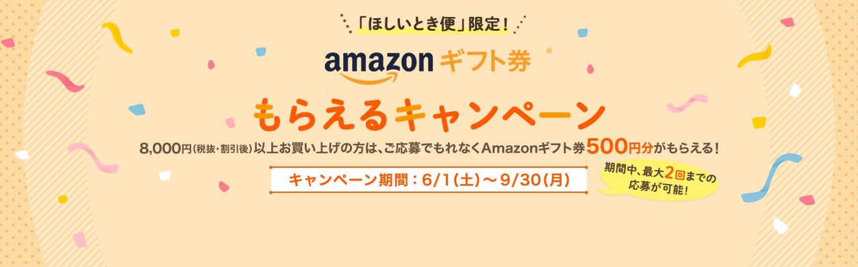 Amazonギフト券もらえるキャンペーン